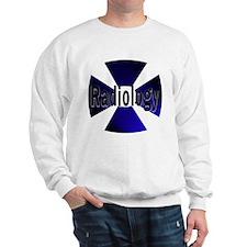 Radiology in Blue Sweatshirt