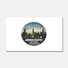 DNC1988faded.png Car Magnet 20 x 12