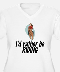 SportChick EquestrianChick Rather T-Shirt
