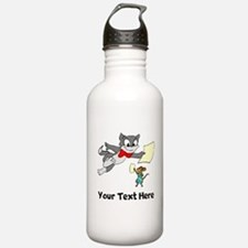 Cat And Mouse (Custom) Water Bottle