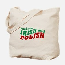 Proud Irish and Polish Tote Bag