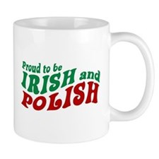 Proud Irish and Polish Mug