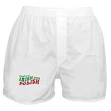 Proud Irish and Polish Boxer Shorts