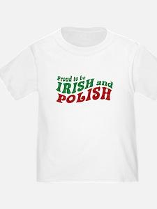Proud Irish and Polish T