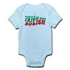 Proud Irish and Polish Infant Bodysuit