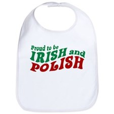 Proud Irish and Polish Bib