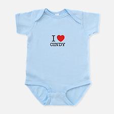 I Love CINDY Body Suit