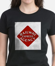 Railway Express Color Logo Ash Grey T-Shirt