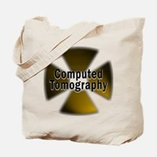 CT in Gold Tote Bag