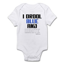 BLUE AND WHITE (INDY) Infant Bodysuit