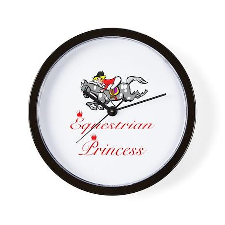 SportChick EquestrianChick Princess Wall Clock
