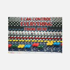 Audio Control Rectangle Magnet