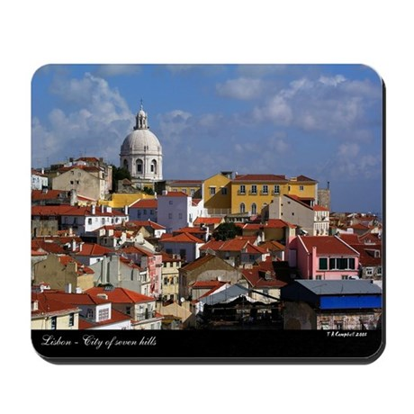 Lisbon, Portugal - Mousepad