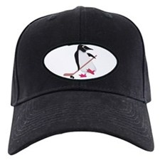 Hockey Penguin Baseball Hat