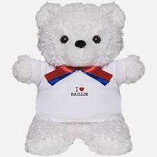 I Love BAILLIE Teddy Bear