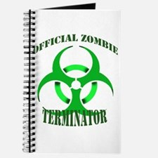 Official Zombie Terminator Journal