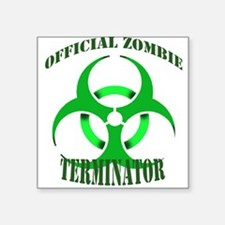 Official Zombie Terminator Sticker