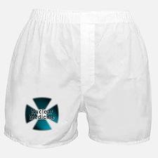 Nuclear Medicine Blue Boxer Shorts