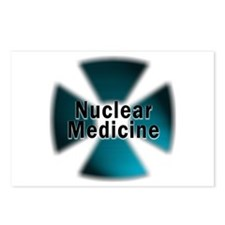 Nuclear Medicine Blue Postcards (Package of 8)