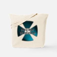 Nuclear Medicine Blue Tote Bag