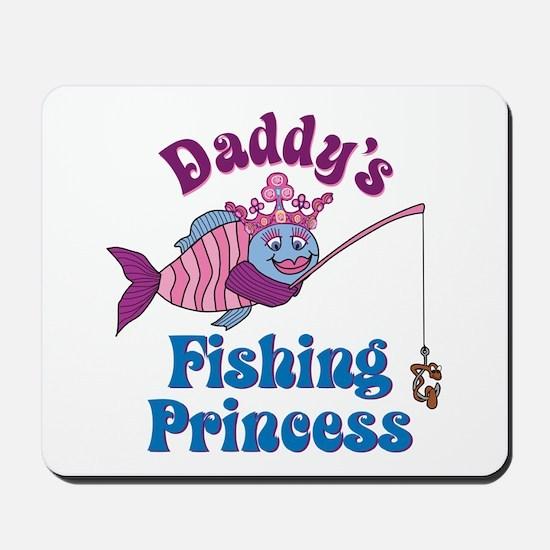 Daddy's Fishing Princess Mousepad
