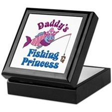 Daddy's Fishing Princess Keepsake Box