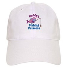 Daddy's Fishing Princess Baseball Cap