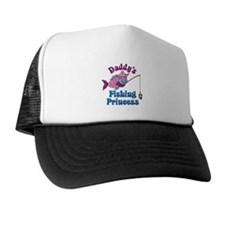 Daddy's Fishing Princess Trucker Hat