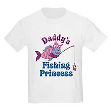 Daddy's Fishing Princess T-Shirt