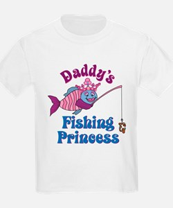 Daddy's Fishing Princess T-Shirt