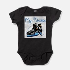 Unique Ice skate Baby Bodysuit