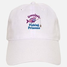 Grandpa's Fishing Princess Baseball Baseball Cap