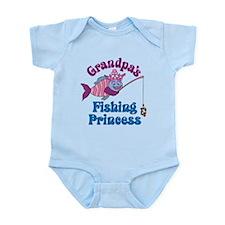 Grandpa's Fishing Princess Onesie