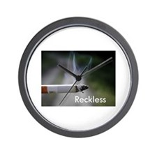 Reckless Wall Clock