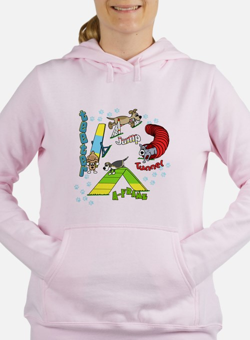 Four Agility Obstacle Sweatshirt