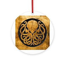 Cute Hp lovecraft Ornament (Round)