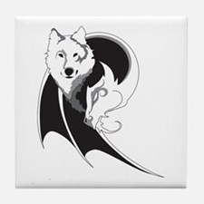 Wolf & Dragon Tile Coaster
