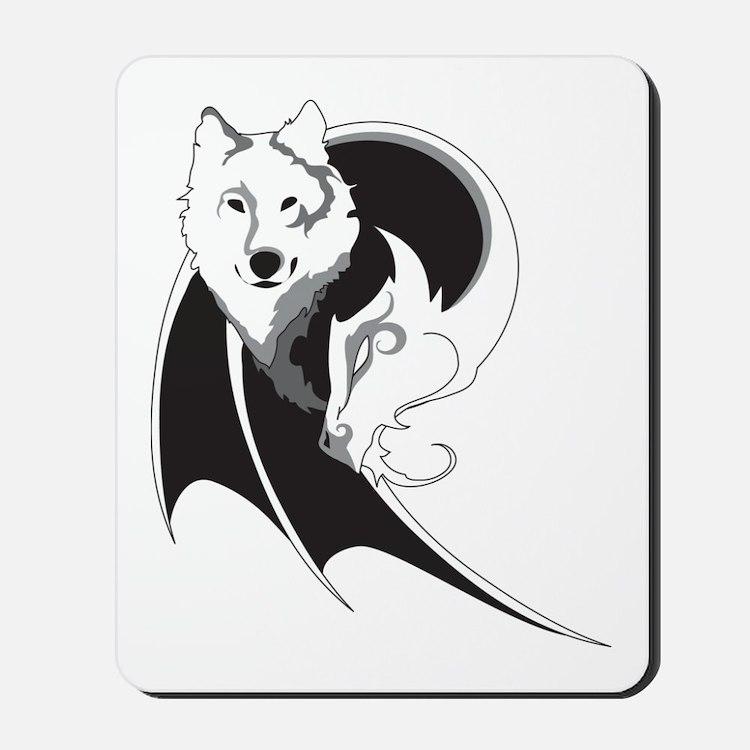 Wolf & Dragon Mousepad