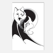 Wolf & Dragon Postcards (Package of 8)