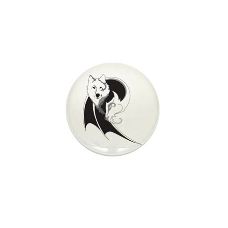 Wolf & Dragon Mini Button (100 pack)