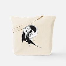 Wolf & Dragon Tote Bag