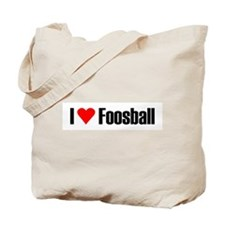 I love foosball Tote Bag