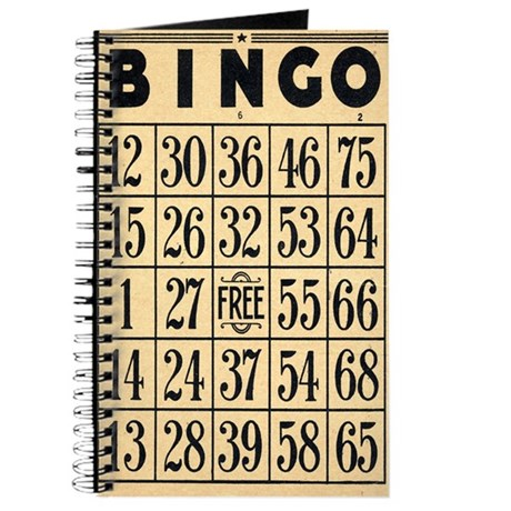 Bingo Journal c2007 W.Cook