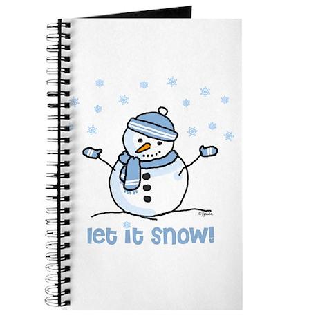 Let it snow snowman Journal