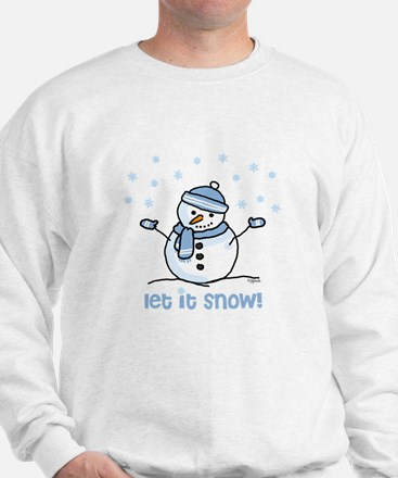 Let it snow snowman Jumper