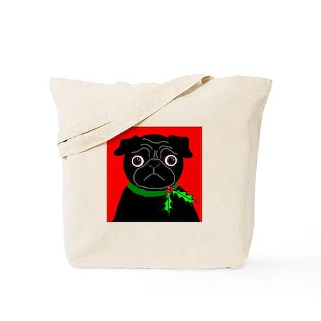 Holly (Black) Tote Bag