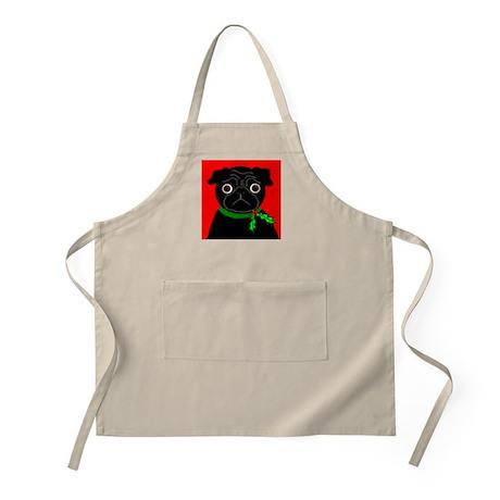 Holly (Black) BBQ Apron