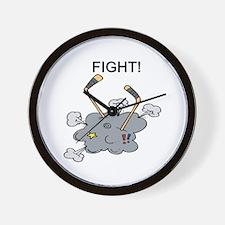 Fight!! Wall Clock