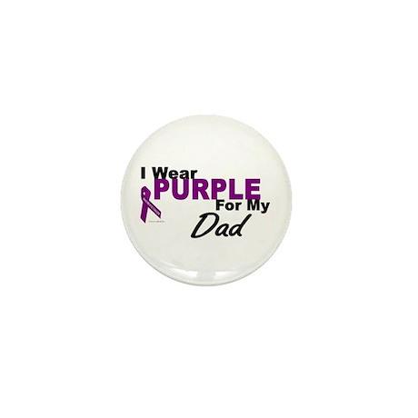 I Wear Purple For My Dad 3 (PC) Mini Button