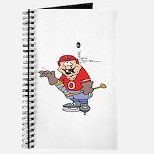 Goofy Hockey Player Journal